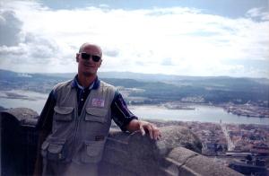 Tarde de 21 de Agosto de 2000, Zimbório do Templo Santa Luzia, Monte de Santa Luzia, Viana do Castelo, Portugal.